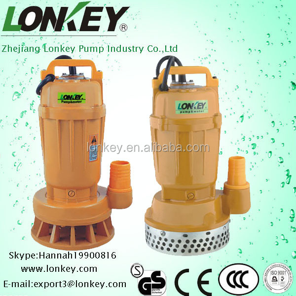 centrifugal Submersible sewage pump,WQD submersible dirty water pump