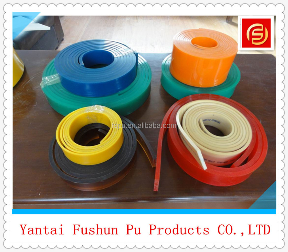 pu squeegee / rubber strip