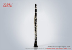China hot sale and high quality woodwind musical instrument a clarinet