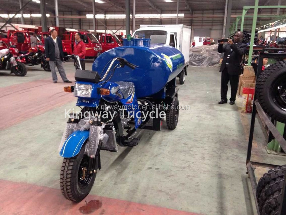 2016 Type Water Tank Tricycle with self priming Water pump