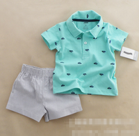 YE7131 kids clothes sets short sleeve shorts fancy boys baby suits