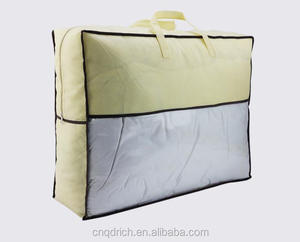 Waterpoof pvc clear pillow plastic bag for packaging