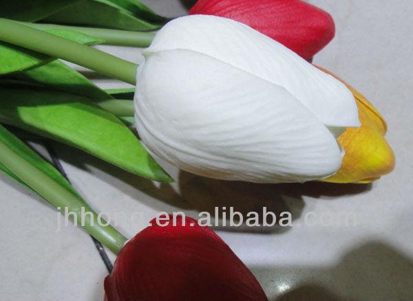 PU tulip artificial flowers upscale feel/home decoration