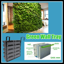 Vertical hanging Green wall garden planter SL-XQ3319 Outdoor Vertical Green Wall Planter Living wall Planters pots