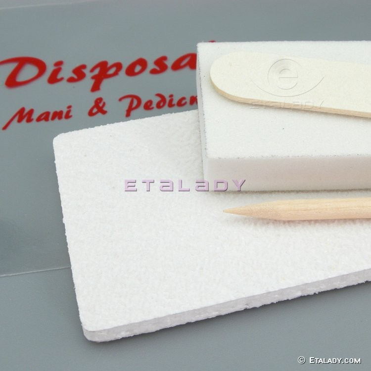Best Selling Products Disposable Nail File Wood White Small File