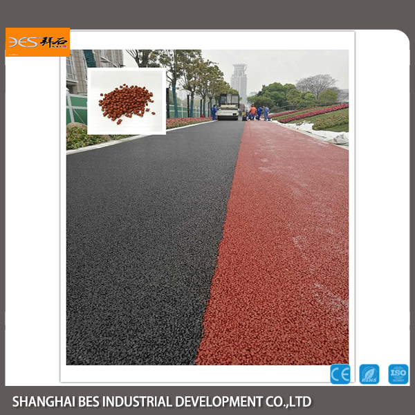 Additives of Pervious Asphalt for Asphalt Road Pavement