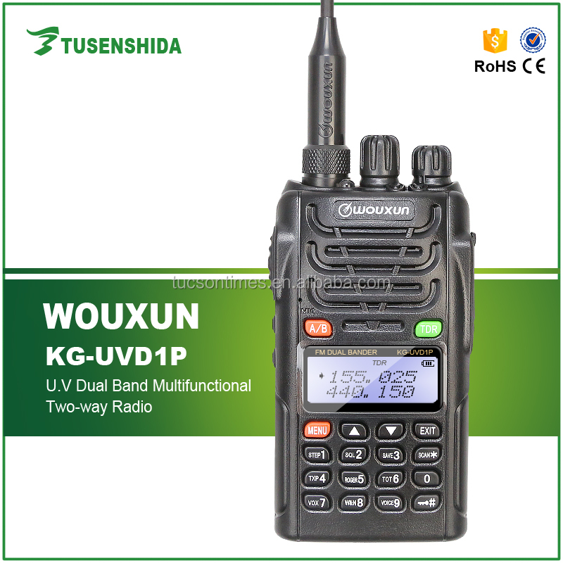 Hotselling factory price dmr mobile voice clear radio WOUXUN DTMF NEW Version Dual Band Two Way Radio KG-UVD1P