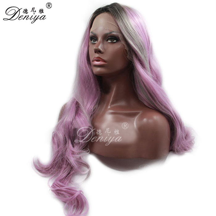 Small cap size wet and wavy cheap lace front wig for black man