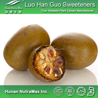 Low-calorie natural sweeteners Luo Han Guo Extract 50% Mogroside V / Monk Fruit Extract / Luohanguo Extract