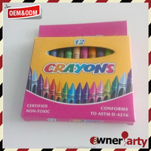 high quality hot sale 2017 color wax crayons