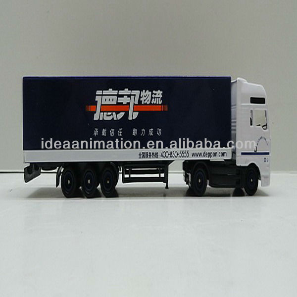 OEM 1:43 Diecast logistics car models