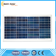 high efficiency high quality competitive price per watt poly 40w solar panel