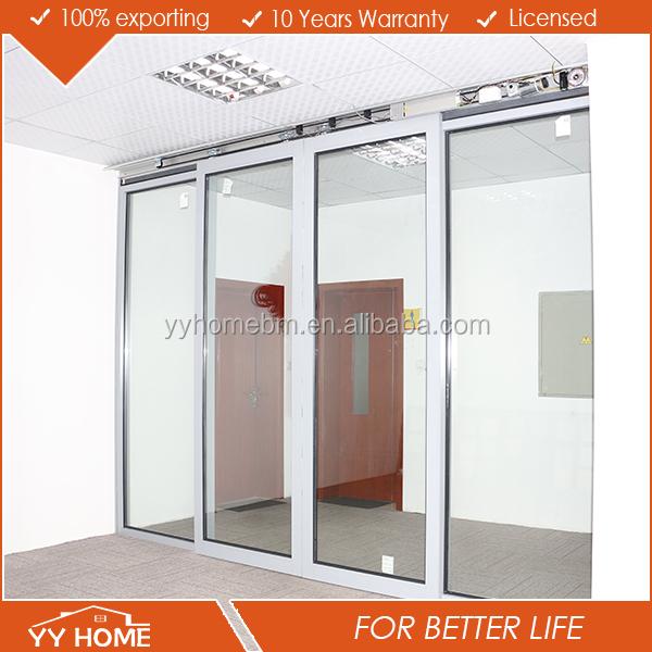 Automatic Glass Sliding Dooryuanwenjun