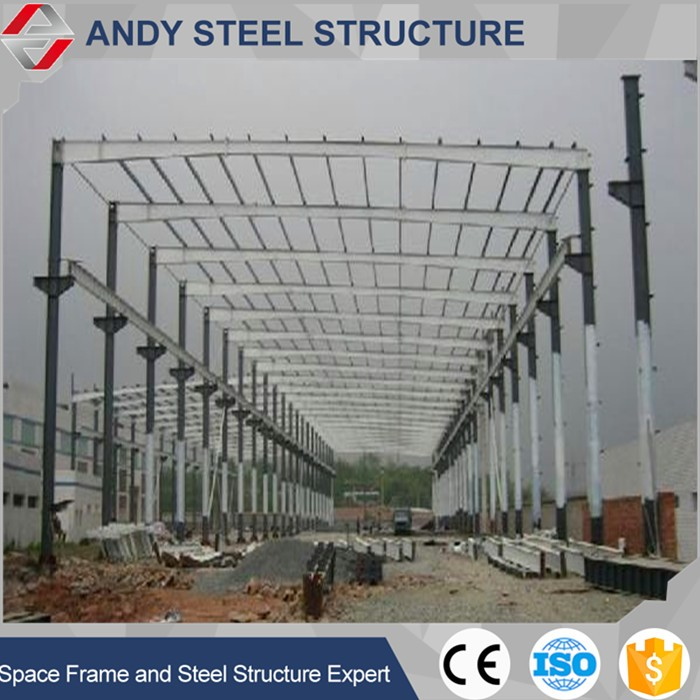 galvanized structural steel frame warehouse construction