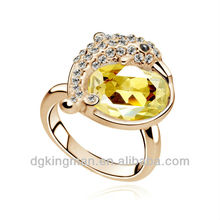 2013 Newest Production Arrival 18 carat yellow gold wedding rings