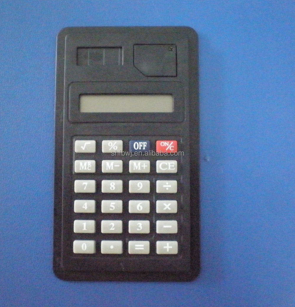 custom 8 digit electronic mini calculator for Promotion