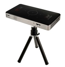 Android mini pocket home projector C6 Full HD 3D mini projector Wireless Battery Powered Portable