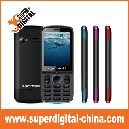 2.8inch Cheap China Brand Cellphone TFT 2G GSM Bar Mobile Phone/colorful music mobile phone