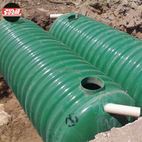 Toilet Bio biotech Septic tank for domestic sewage treatment device