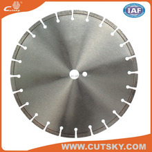 "14"" 350mm concrete laser welding diamond circular saw blade diamond cutting disc for cutting concrete"