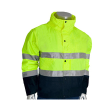 Wholesale yellow waterproof 3 layers Softshell high light vis work wear reflective <strong>safety</strong> uniform reflective uniform shirt
