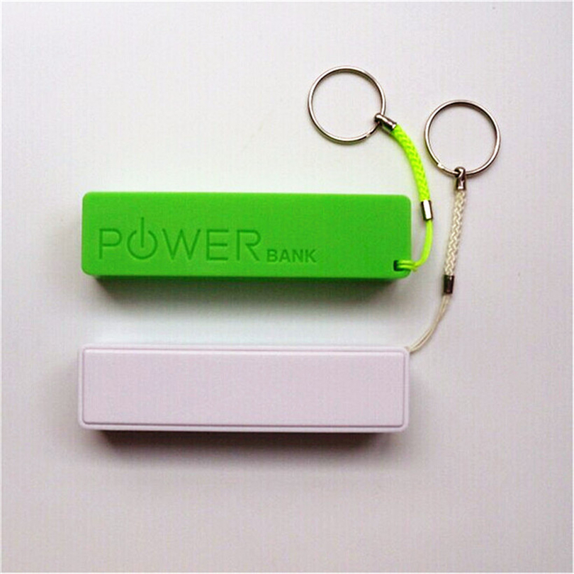 Fashion USB <strong>Mobile</strong> Power Bank Charger Pack Box Battery Powerbank Case DIY Portable