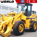 China granite marble quarry front end fork loader 3ton wheel loader