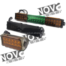 2018 New Design Cree Led Light Bars Cover Red Blue Amber Green Black Transparent Led Light Cover Car Accessories