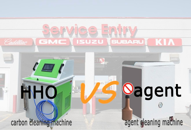 Diesel internal engine carbon cleaning car fuel injector cleaning machine