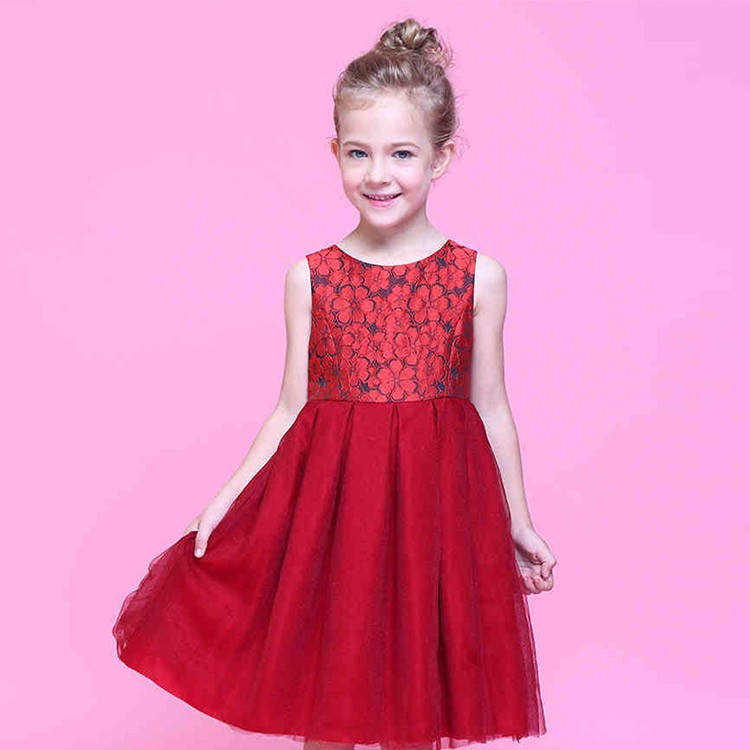 China Manufacturer Durable Flower Girl Dress Patterns