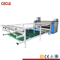 Large format sublimation heat transfer machine