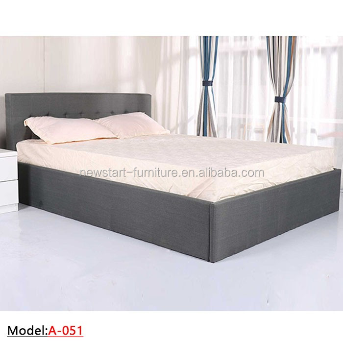 MB-051modern fabric sleeping <strong>bed</strong>