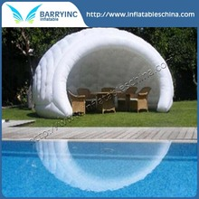Air blown up camping inflatable tent 3m