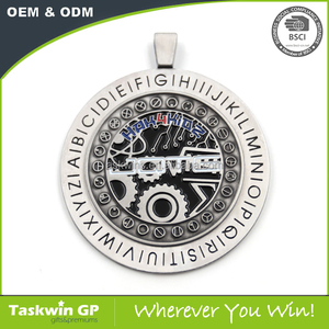 Custom metal medal with unique logo visual waiting for your idea to design
