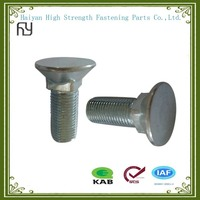 China manufacture process flat head countersunk bolts with square neck