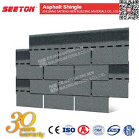 Chapel Gray tiles front wall bitumen roofing shingles
