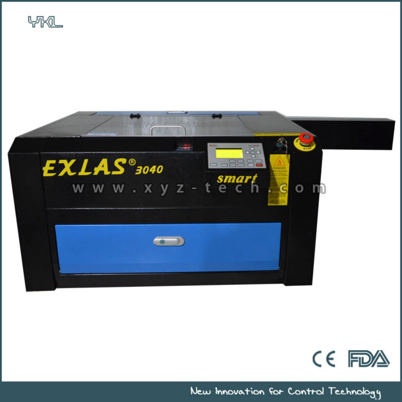 40w 60w Newest mini laser engraving machine with chiller