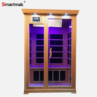 Good quality 2 person low emf far infrared sauna for sale