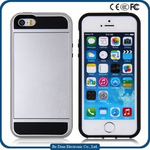Fashion cell phone case antigravity phone case with credit card for iphone 5/5S/SE