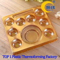 chocolate plastic trays packaging vacuum forming