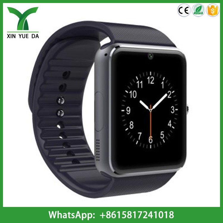 Factory cheap bluetooth android ios gt08 smart watch camera watch