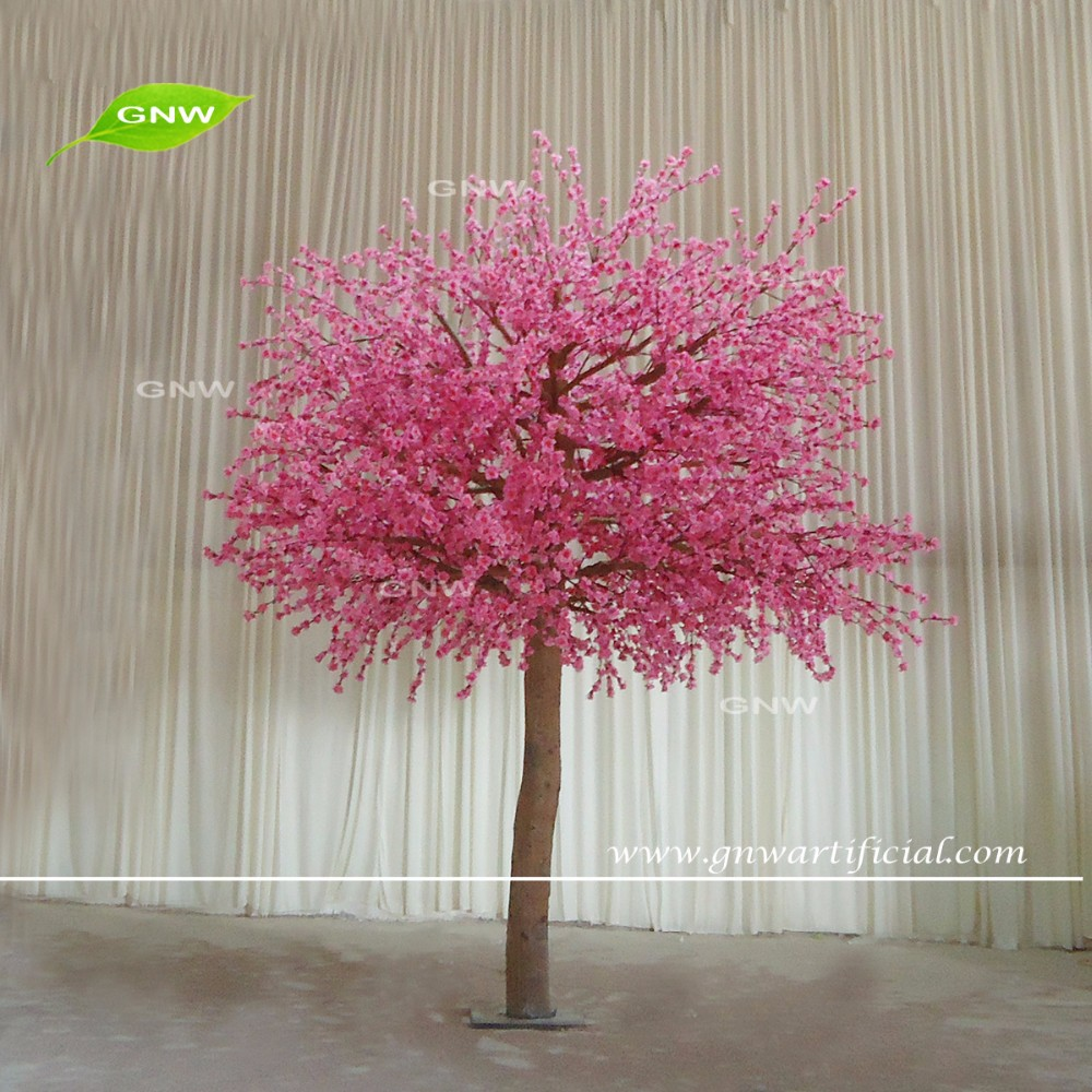 GNW BLS1609018 9ft Pink Artificial cherry blossom tree for wedding decoration