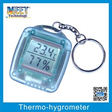 MS-80(3A) Mini digital Thermometer Hygrometer for indoor use with Key Chain