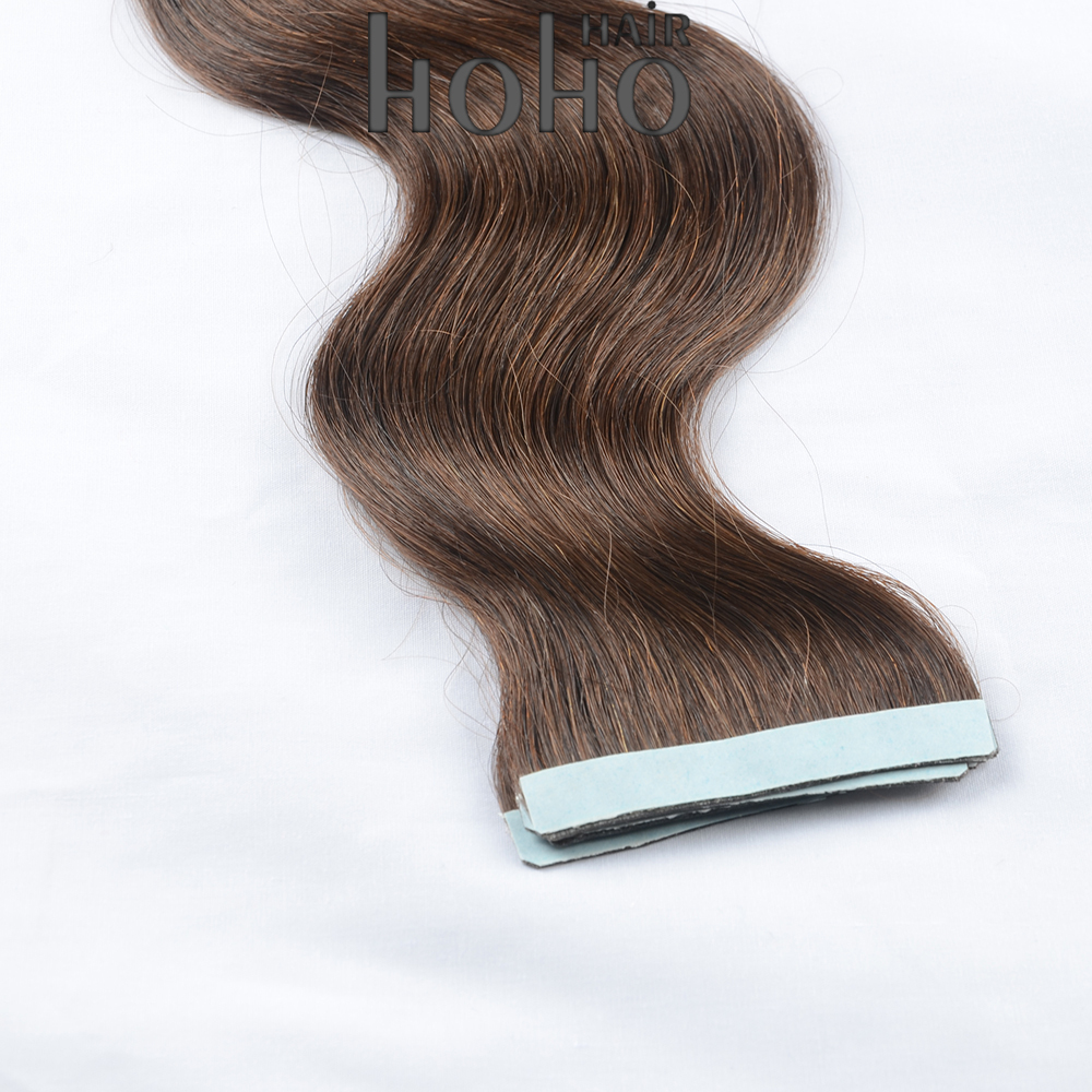 high quality hot sale invisible sew in wavy tape hair extension in hyderabad