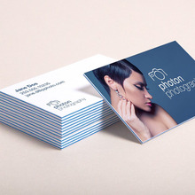 3-ply layered business card, sandwich effect visiting card printing