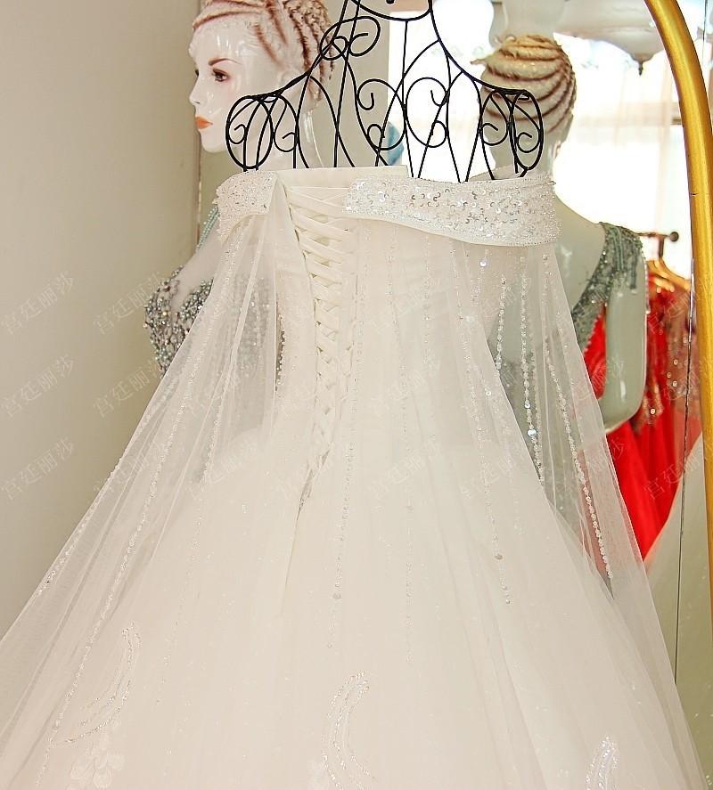 Ls60102 cristal perl e hors shouder alibaba robe de for Hors des robes de mariage san francisco