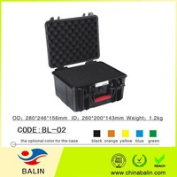 BL-02 Hard plastic safety equipment case