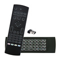 Back-Light 2.4G 3D Air Mouse Mx3 Wireless Keyboard And Mouse For Android Tv Box