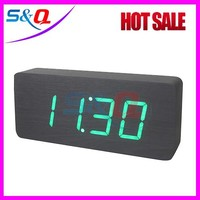 2015 newest Wooden led clock