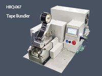 CE approved TUV identified Strapping Bundling Machine HBQ-067 in wire harness industry